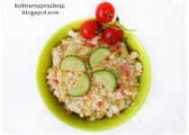 Sałatka jarzynowa (warzywna) z kukurydzą