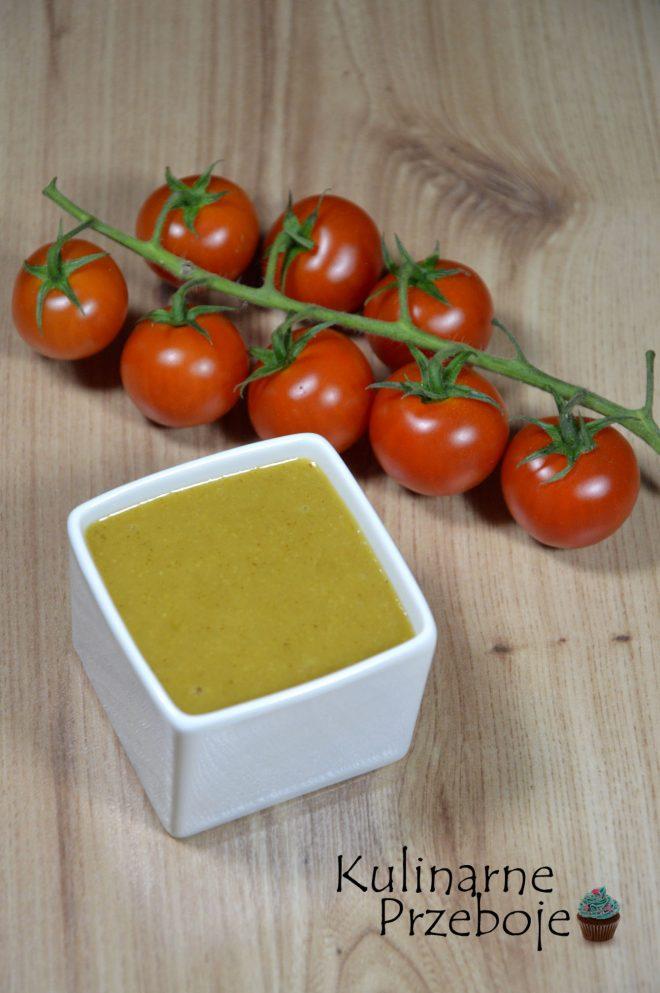 Słodki sos miodowo musztardowy