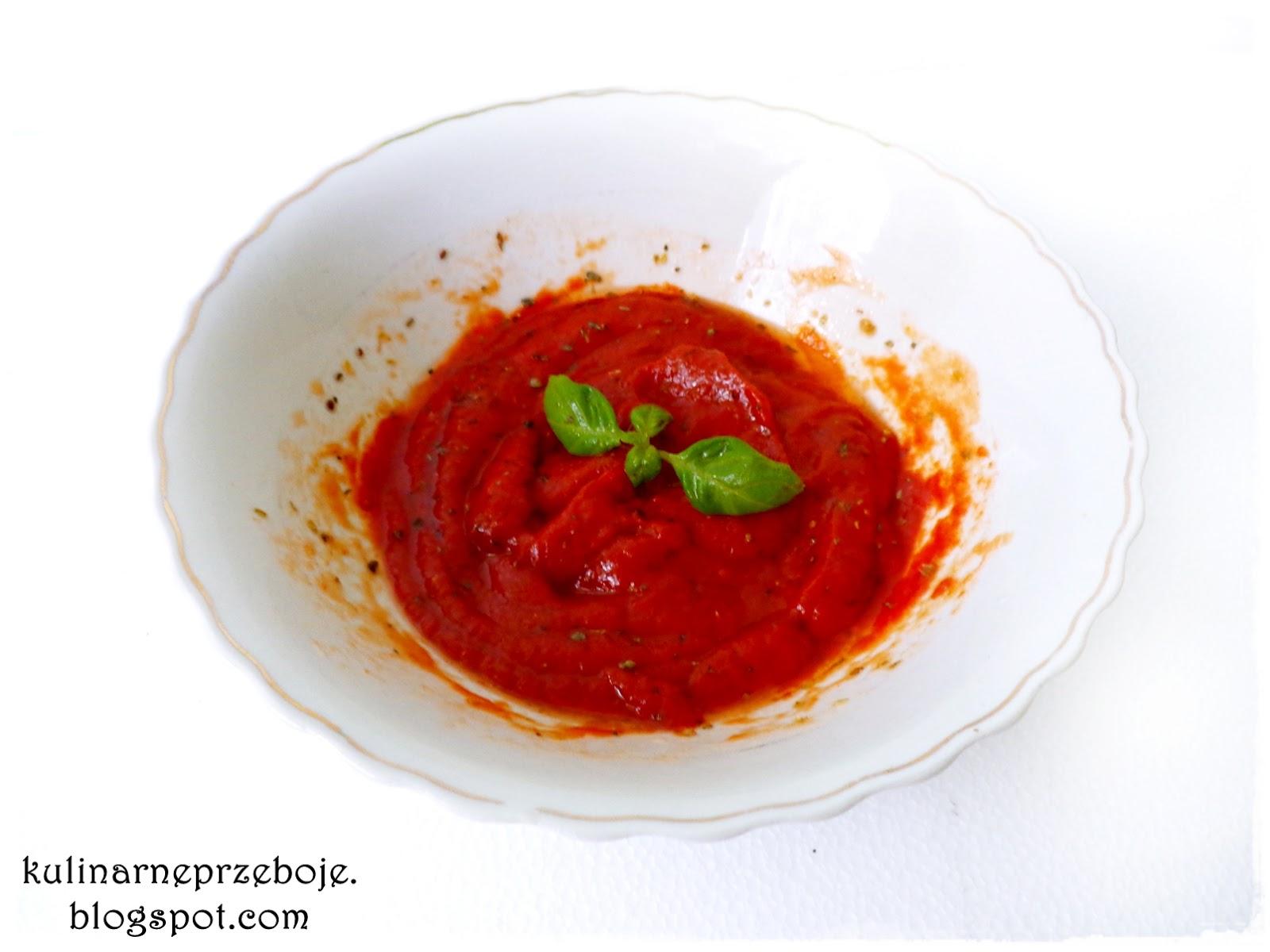 Sos do pizzy - sos pomidorowy, Pizza Sauce - Tomatensauce