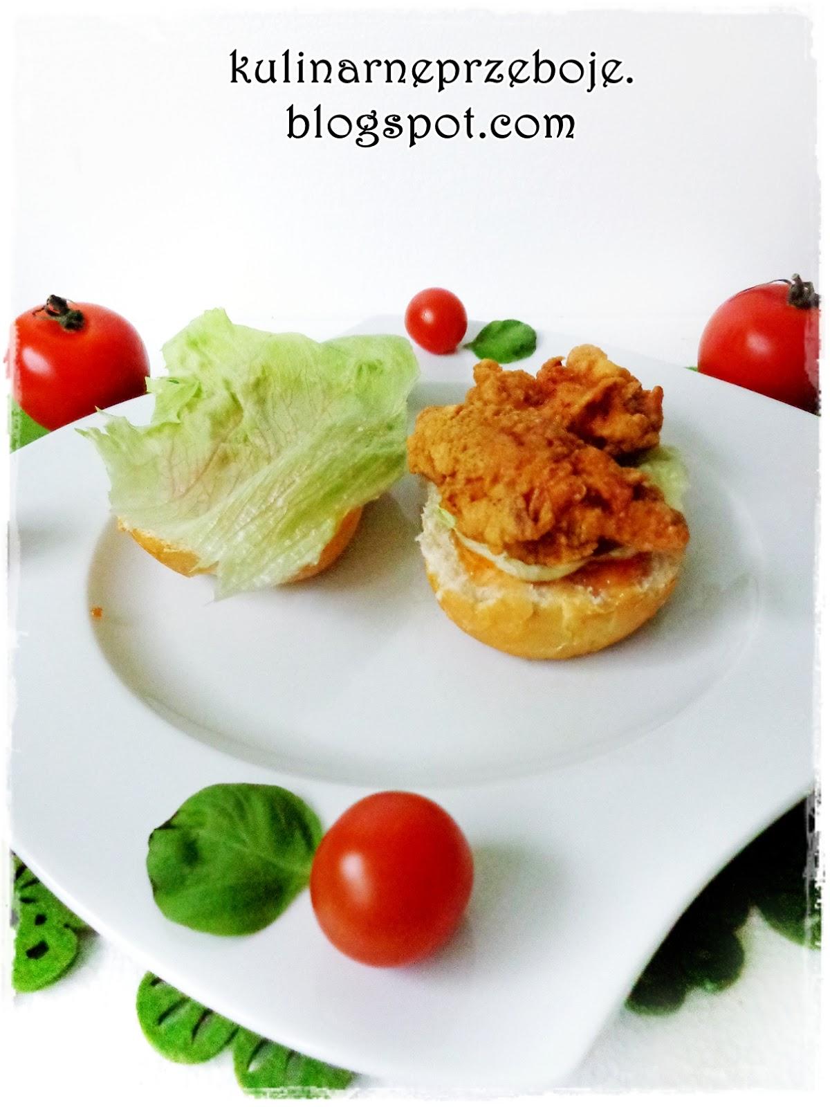 Kanapka ala Longer KFC