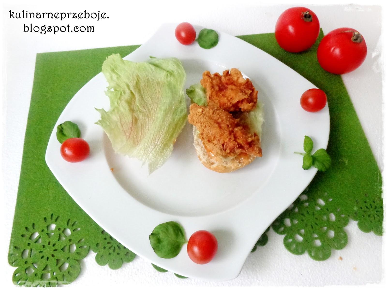 Kanapka a'la Longer KFC