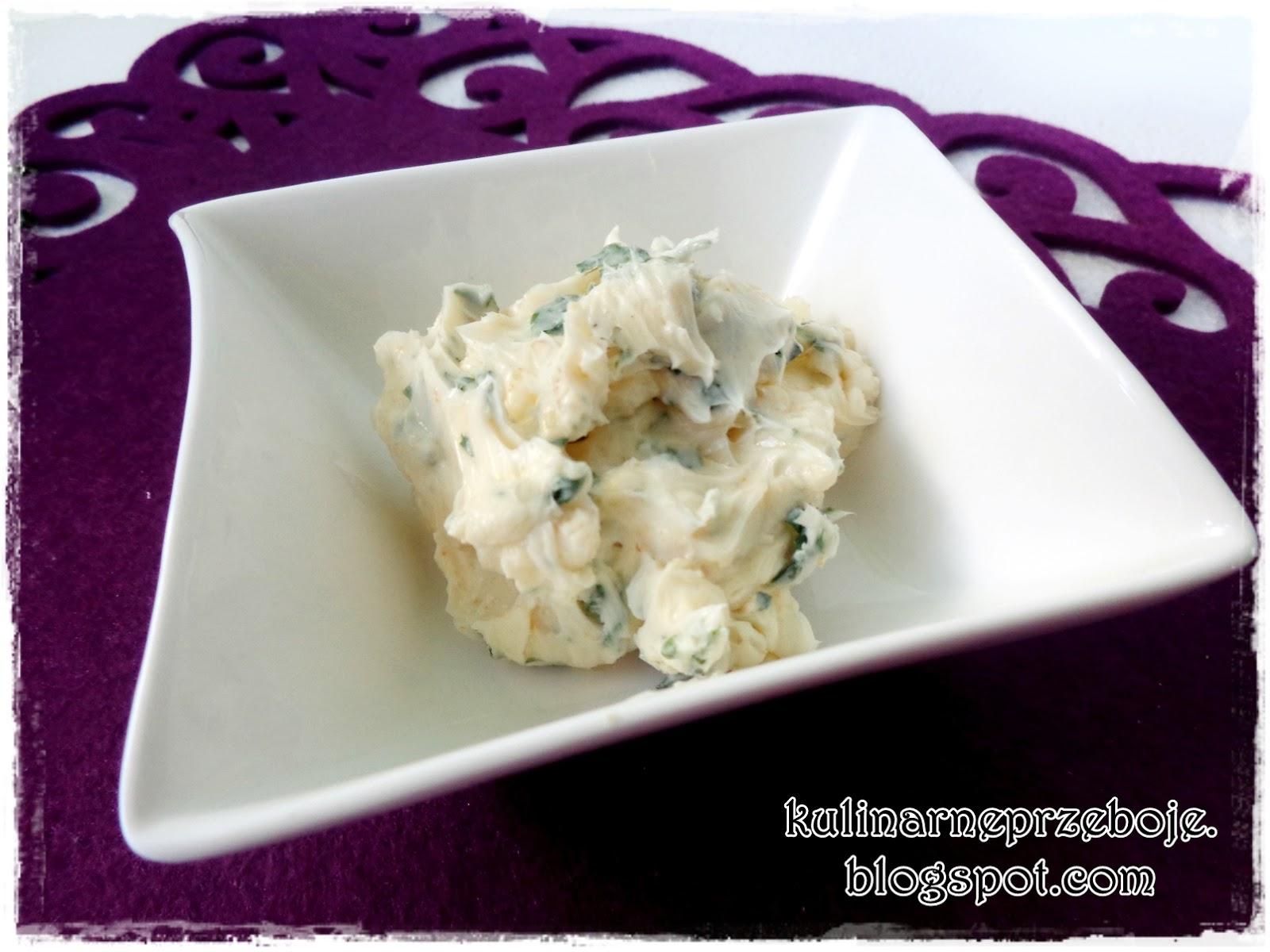 Masło czosnkowe z natką pietruszki