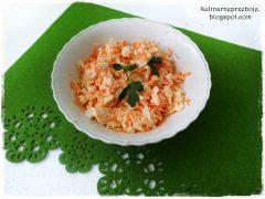 Surówka do obiadu (z marchewki i kapusty pekińskiej)