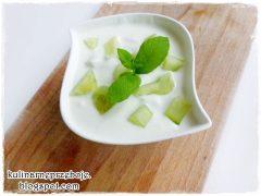 Dip ogórkowy na jogurcie greckim