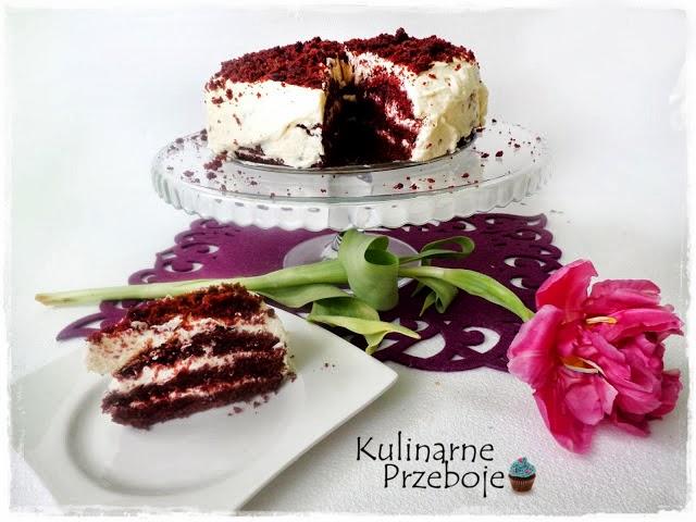 Red Velvet Cake - czerwone ciasto z kremem
