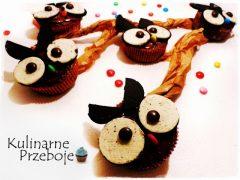 Babeczki sowy - muffiny sowy