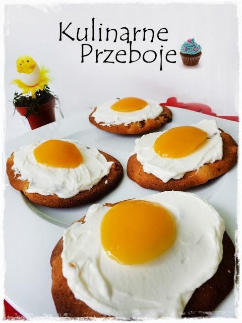 Ciasteczka jajka sadzone