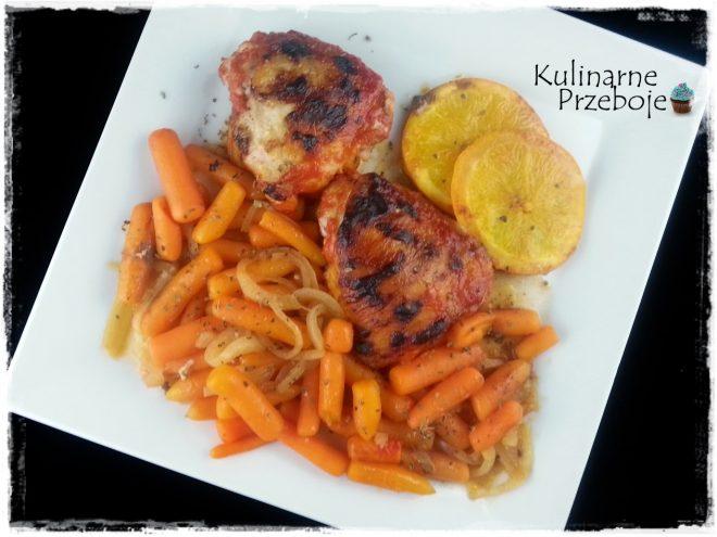 Kurczak (udka) w pomarańczach