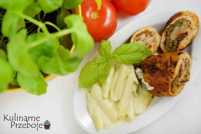 Penne w kremowym sosie, szybki tani obiad