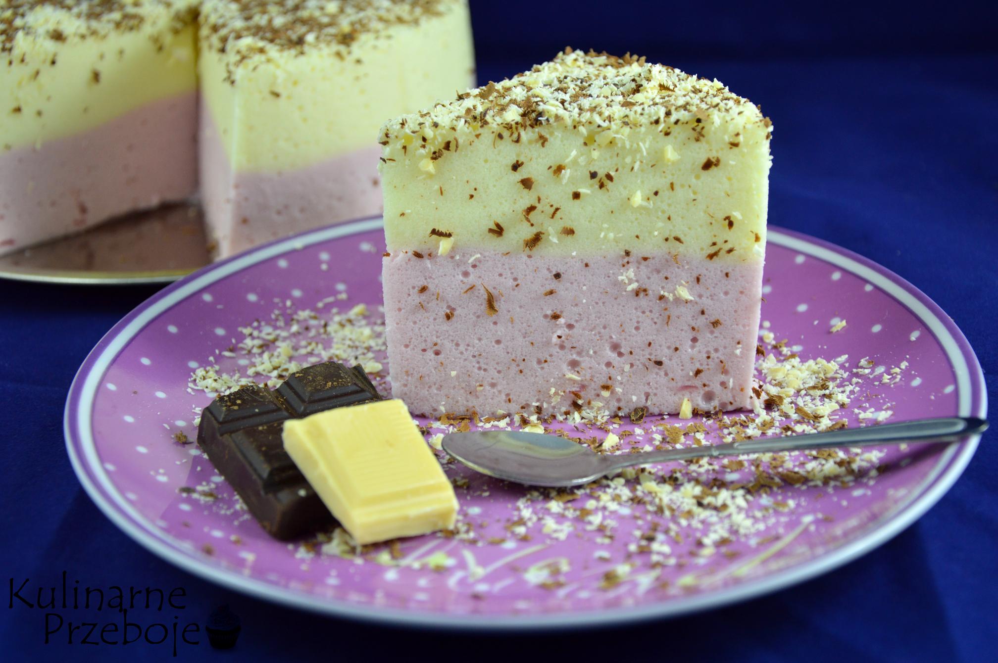 Delikatne ciasto wiśniowo-cytrynowe
