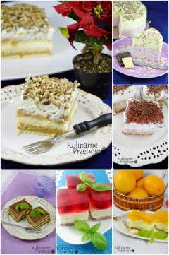 Przepisy na ciasta bez pieczenia