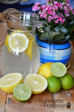 Dzbanek wody z cytryną