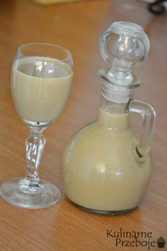 Likier kawowy z słodzonego mleka skondensowanego
