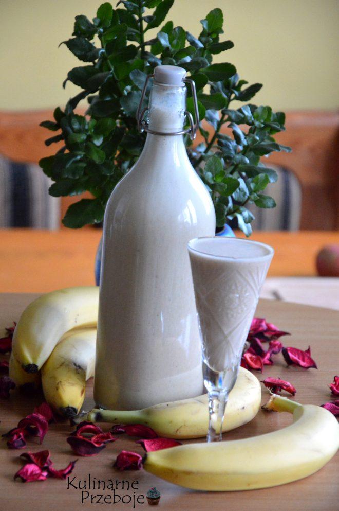 Szybki i prosty likier o smaku bananowym