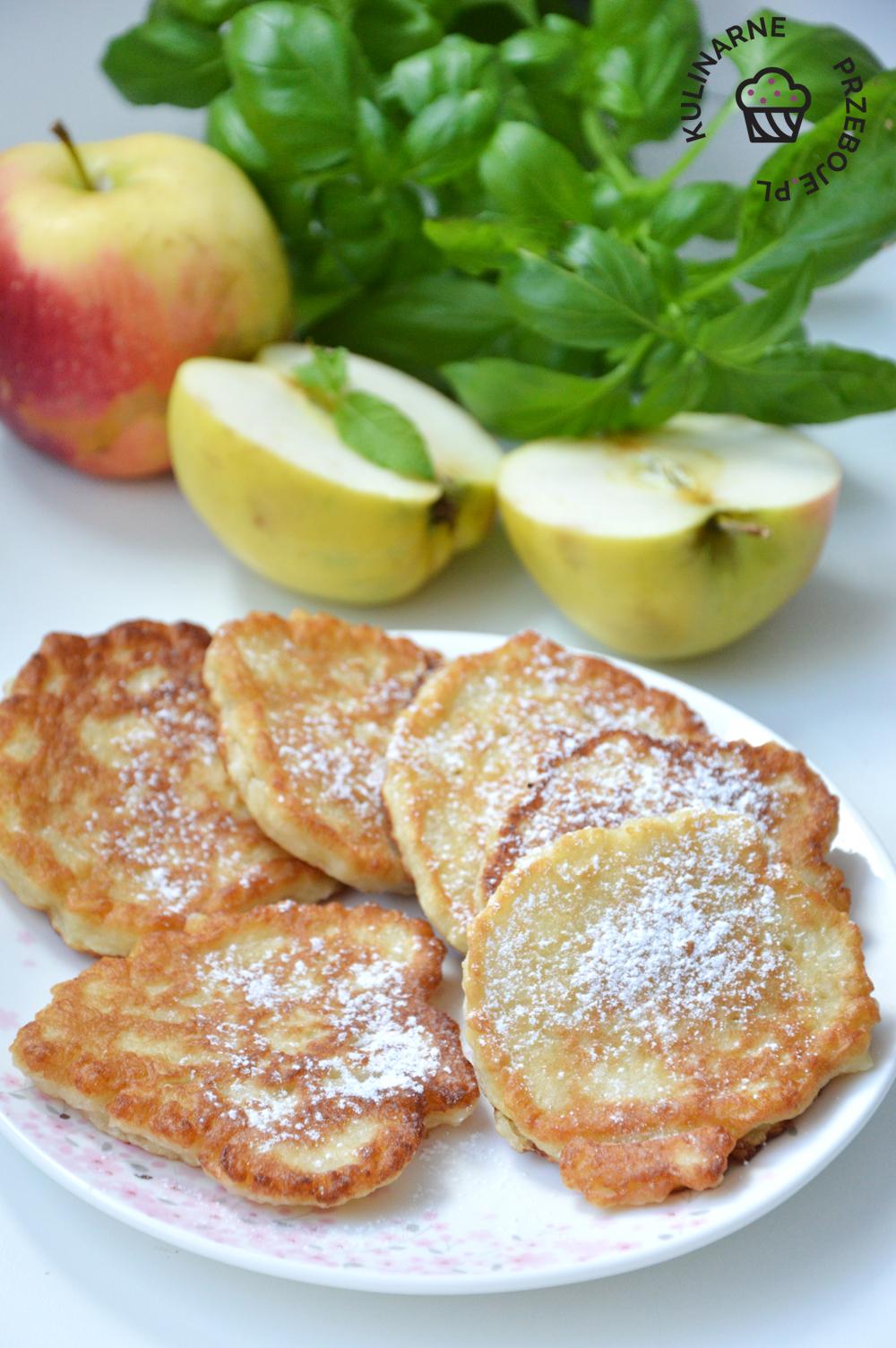 placuszki z jabłkami dla dzieci