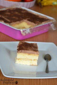 Ciasto kostka królowej bez pieczenia