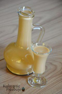Szybki i prosty likier mleczny, tylko 2 składnikowy