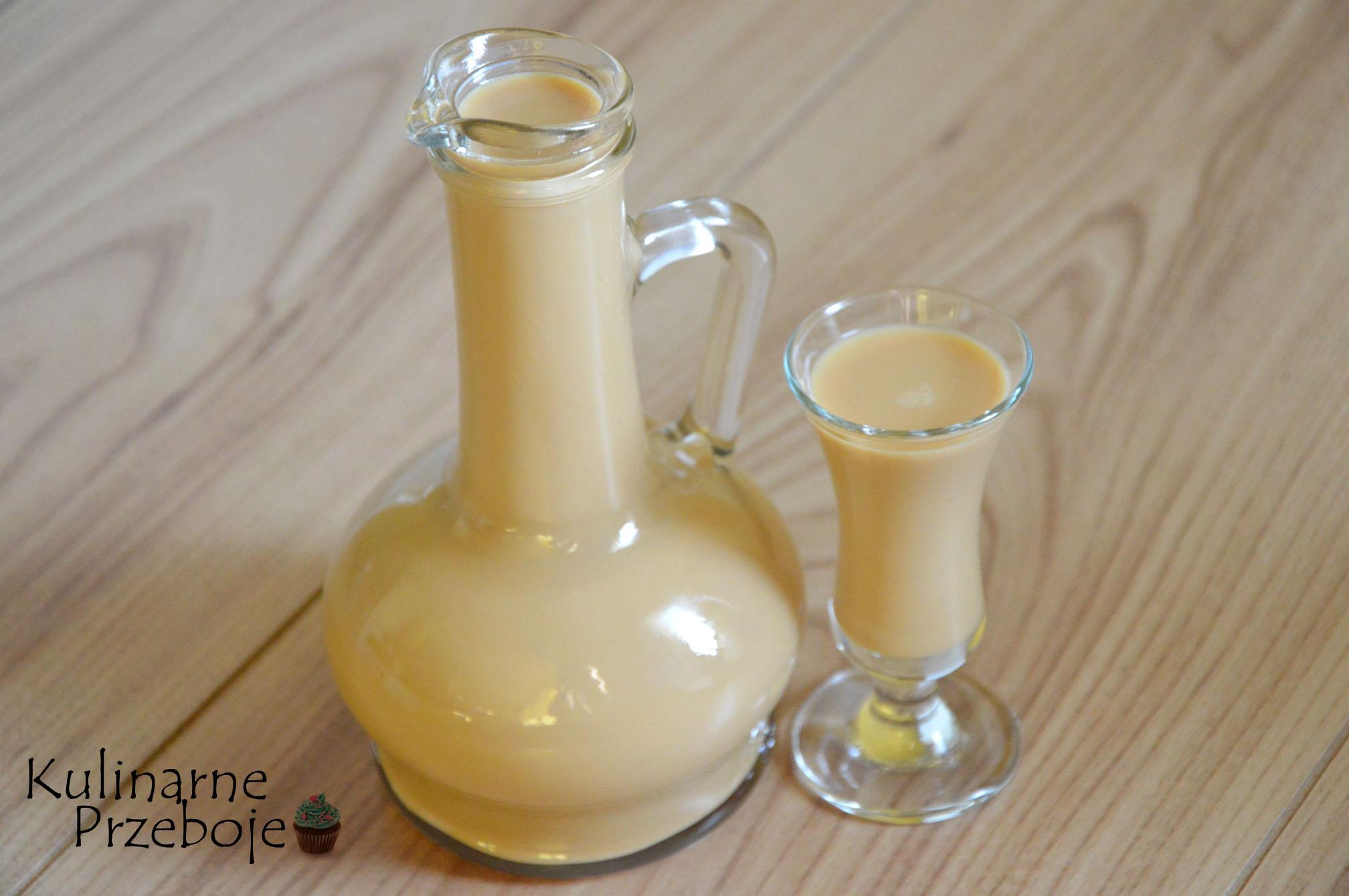Szybki likier mleczny