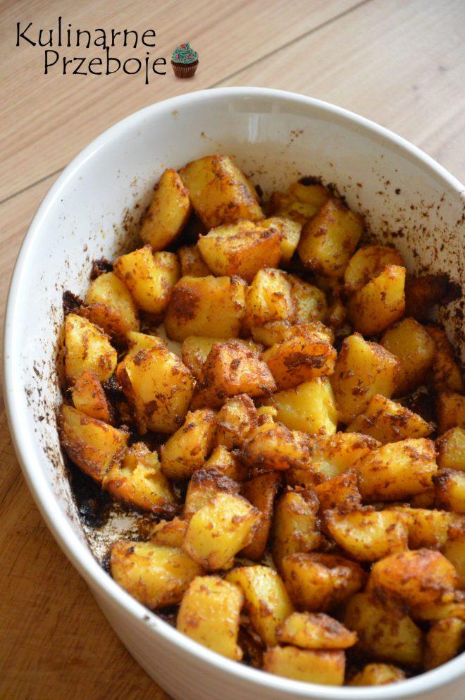 Ziemniaki z piekarnika, pyszne pieczone ziemniaczki z przyprawami