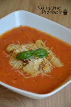 szybka włoska zupa pomidorowa