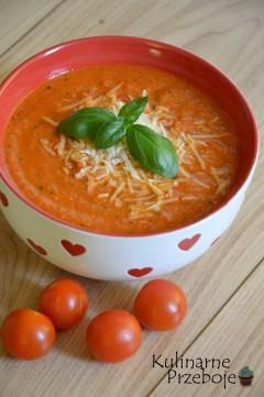 zupa krem z suszonymi pomidorami