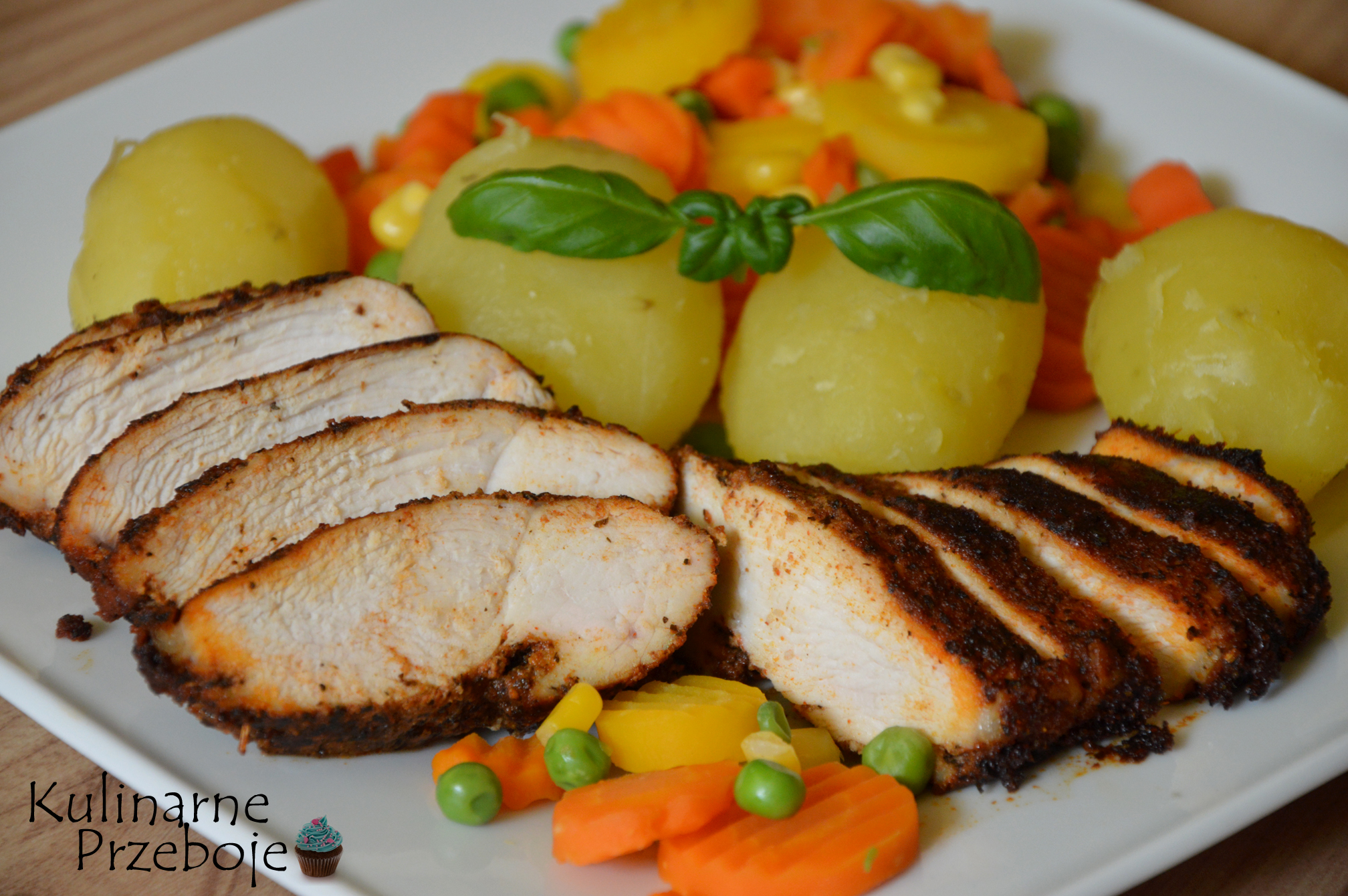 Dietetyczny Obiad Czyli Pieczona Piers Kurczaka Z Warzywami