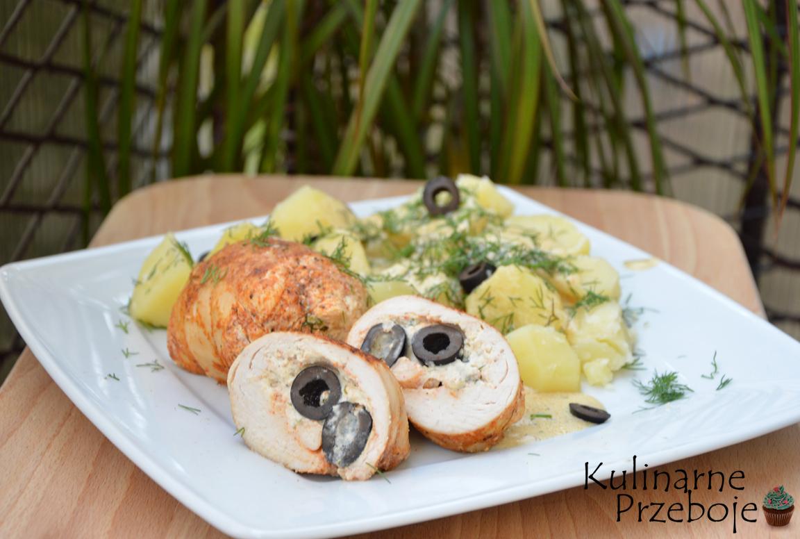 soczyste roladki z kurczaka z oliwkami
