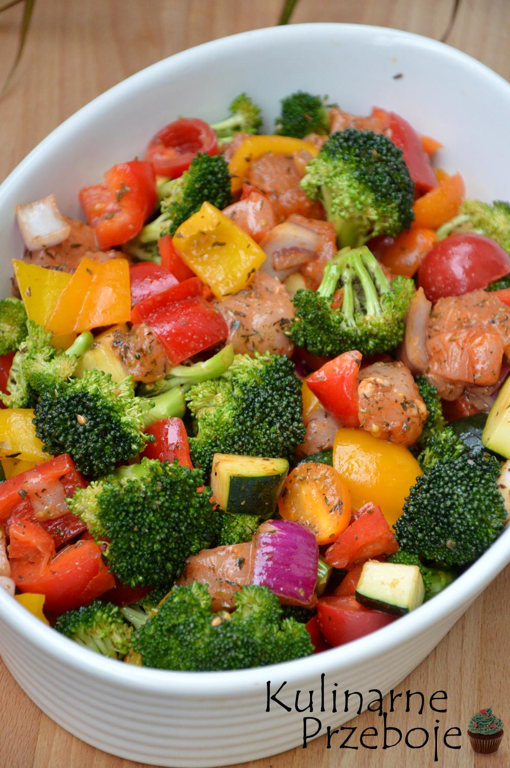 Piers Kurczaka Z Piekarnika Z Warzywami Obiad W 15 Minut