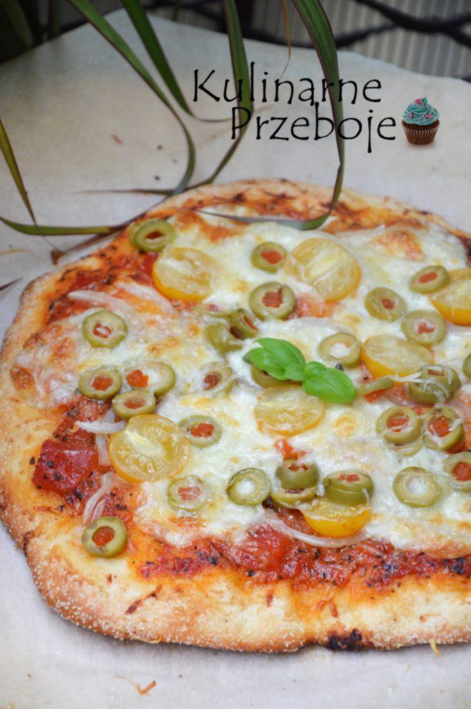Szybka pizza na cieście bez wyrastania