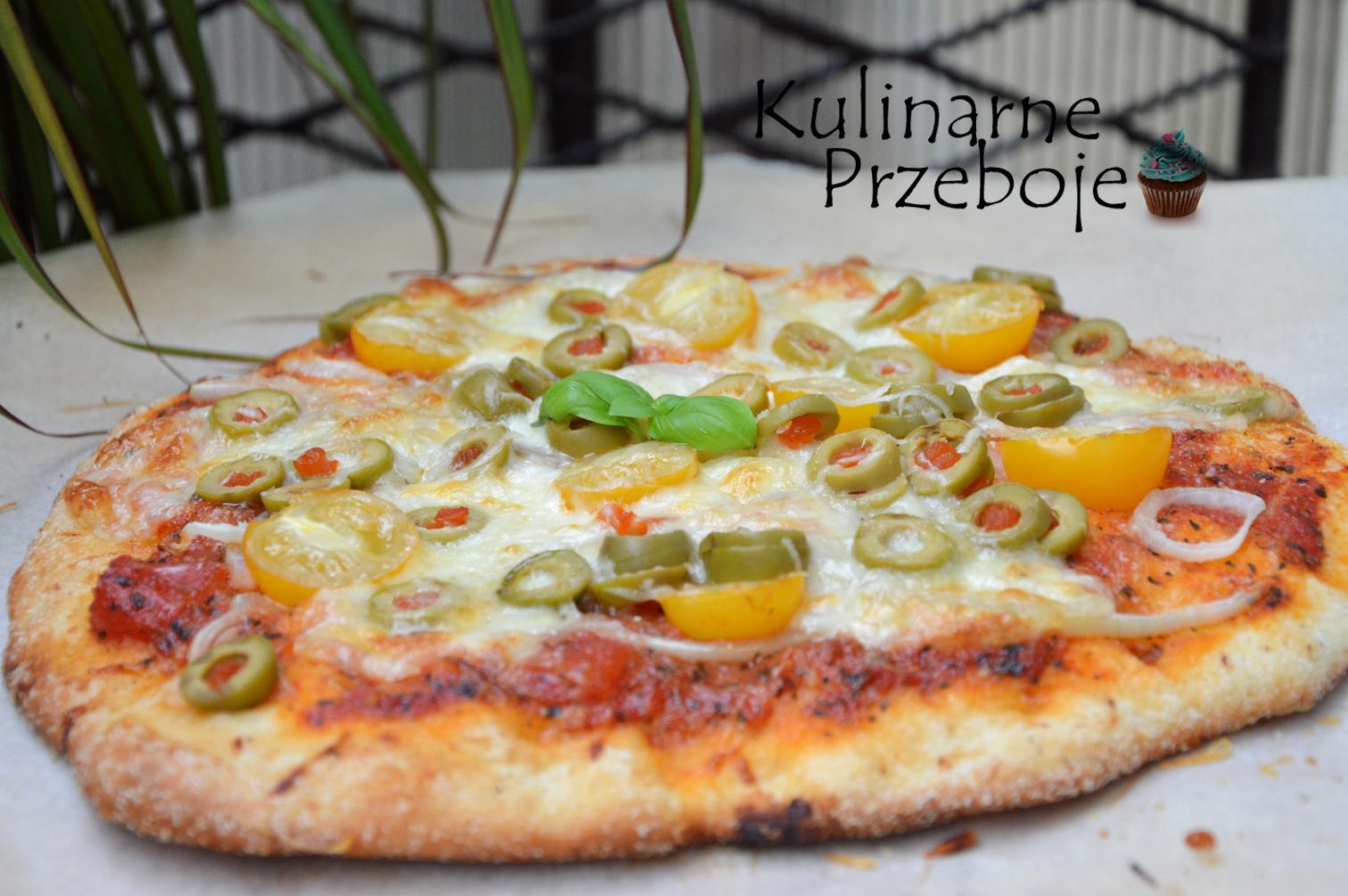 Gotowa pizza na cieście bez wyrastania