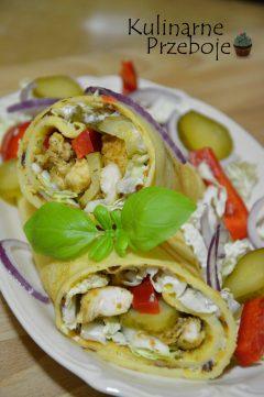 naleśniki kebab