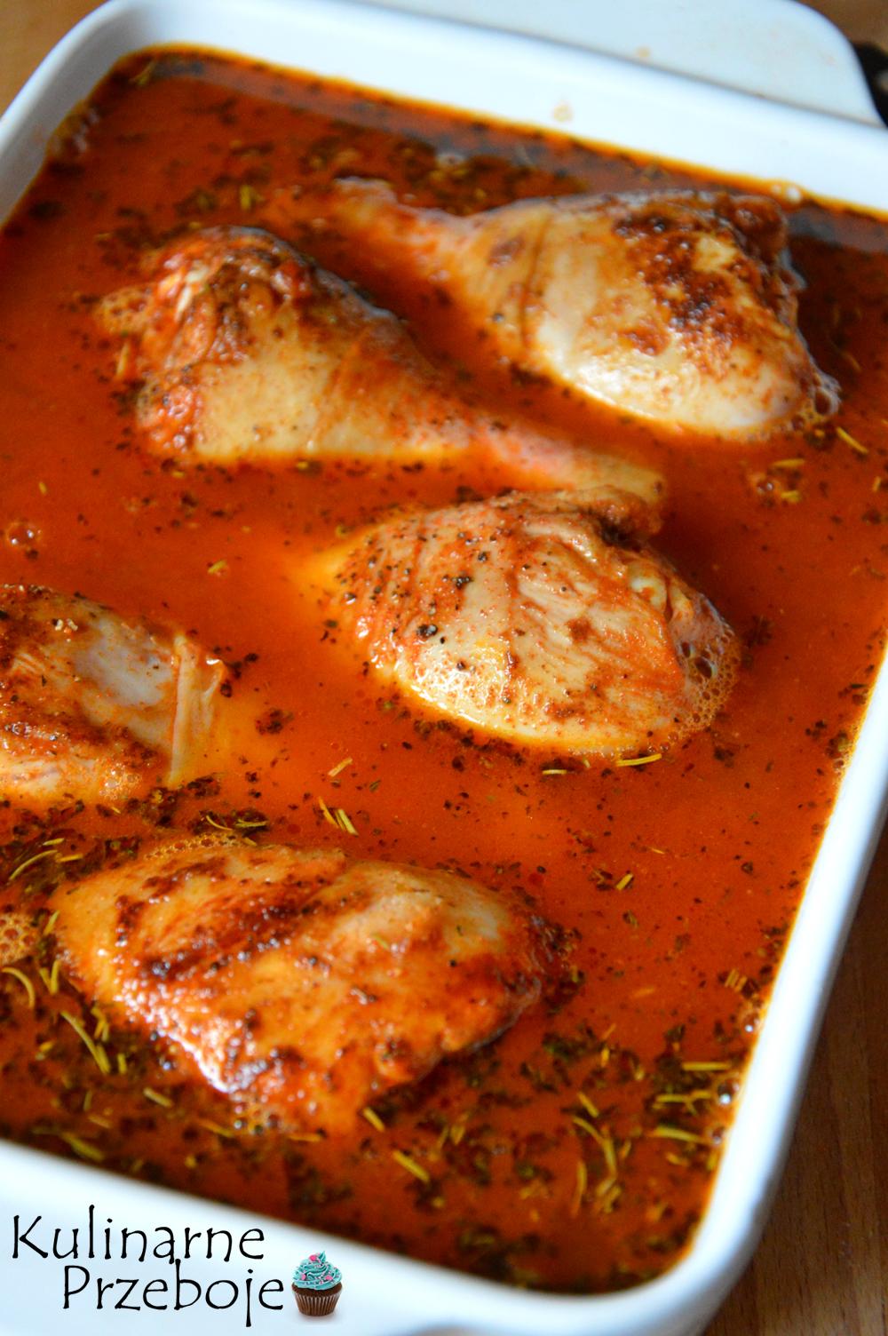 Ryż z pieczonym kurczakiem na szybko