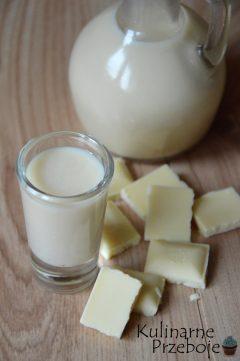 Przepyszny likier z białej czekolady