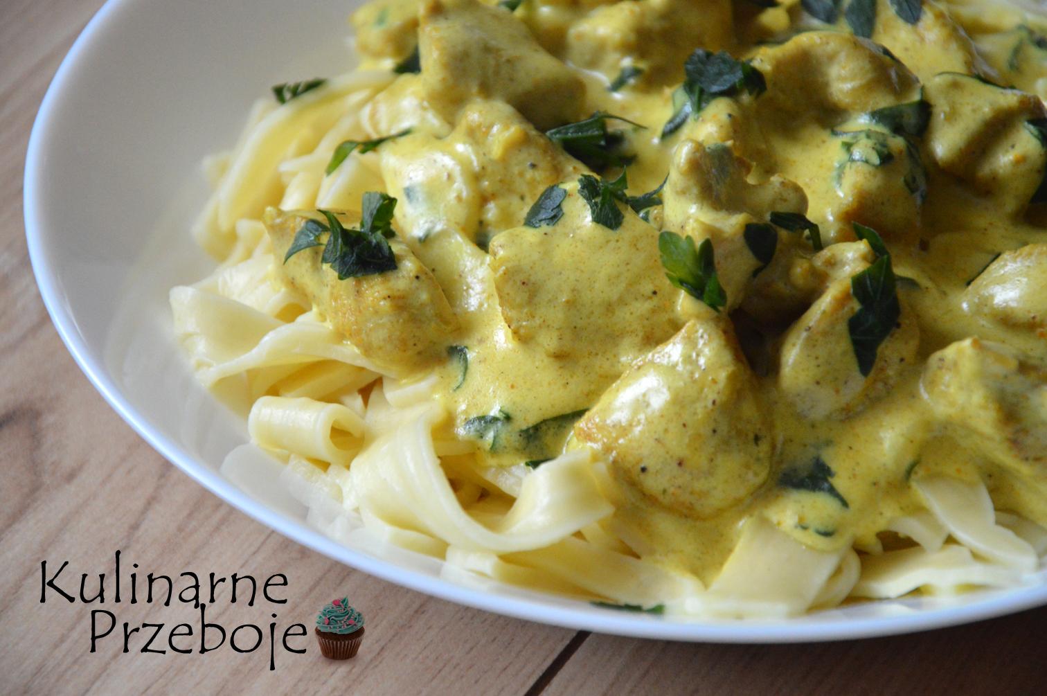 kurczak curry w 15 minut