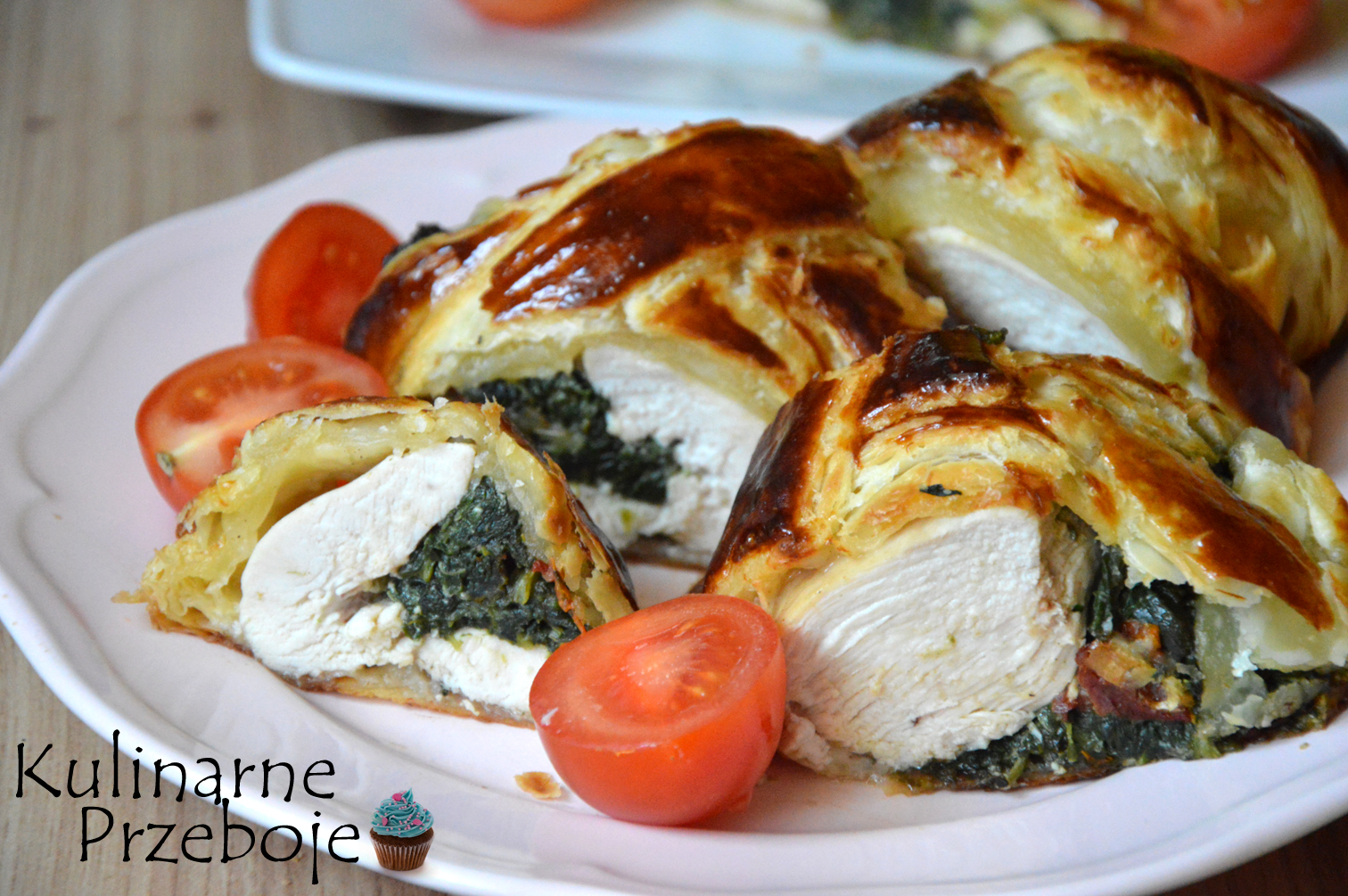 pierś z kurczaka w cieście francuskim