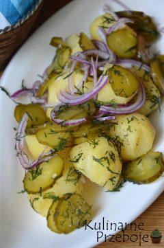 Banalnie prosta i pyszna sałatka z młodych ziemniaków do grilla