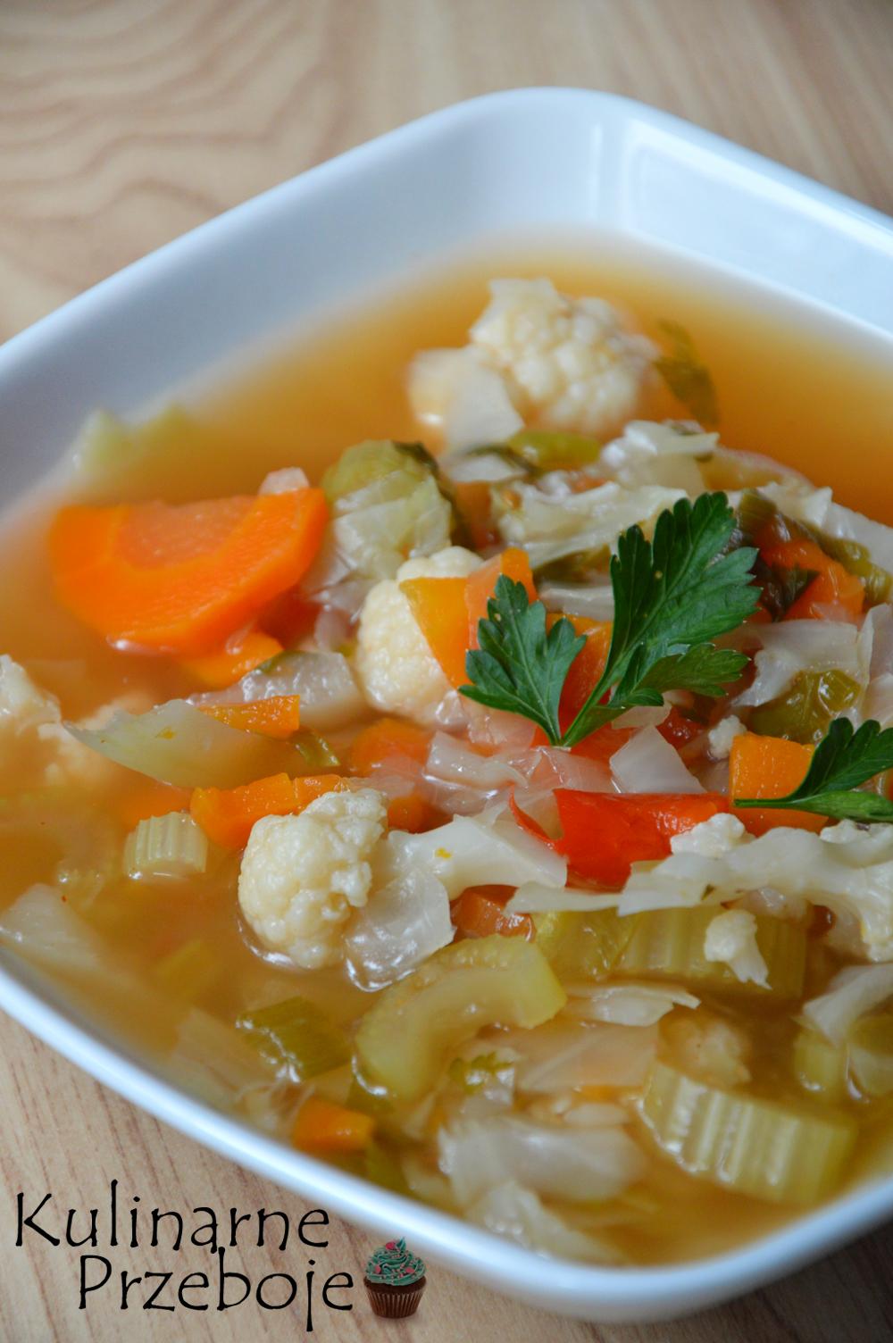 zupa spalająca tłuszcz, która pomoże w diecie
