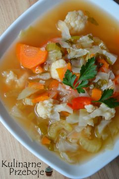 Dietetyczna zupa spalająca tłuszcz