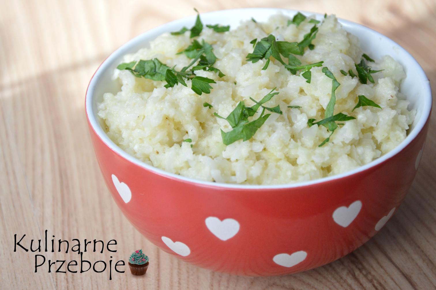 Kalafiorowe risotto z parmezanem