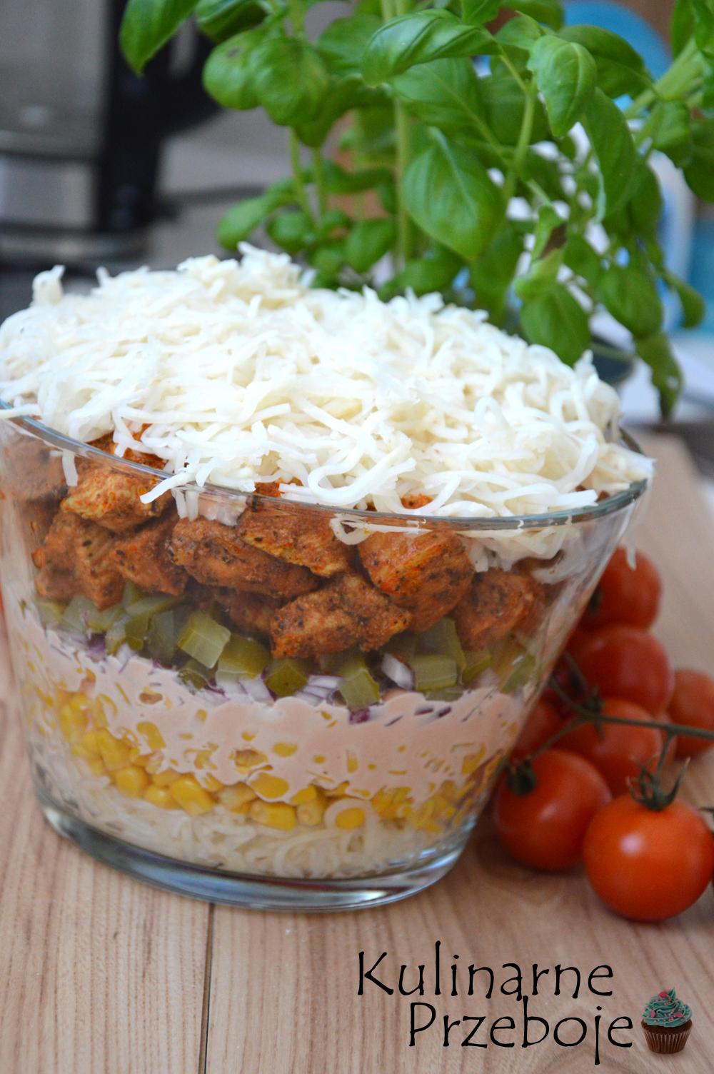 Selerowy Gyros z kurczakiem i selerem konserwowym