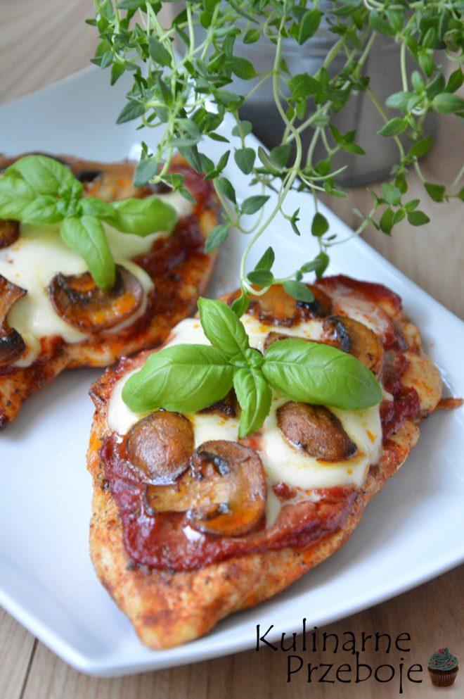 Filety Piersi Z Kurczaka A La Pizza Kulinarneprzeboje Pl
