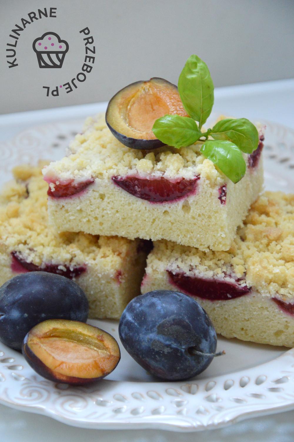 Idealne ciasto do kawy ze śliwkami i kruszonką