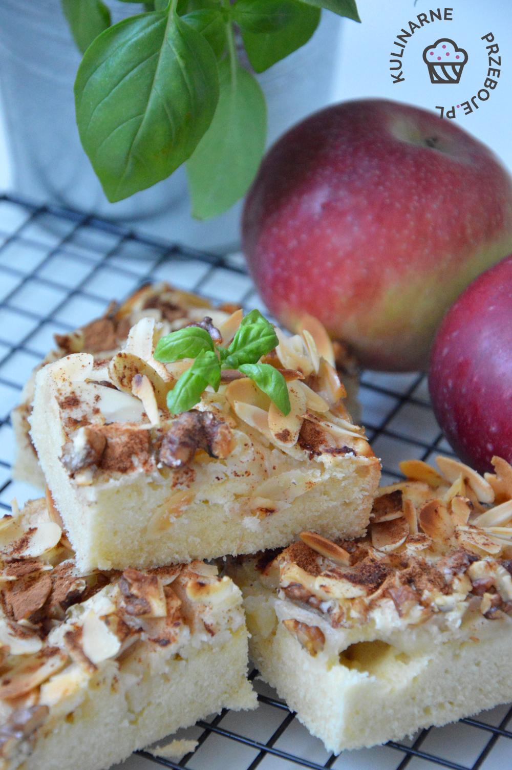 Przepyszne i bardzo proste ciasto z jabłkami