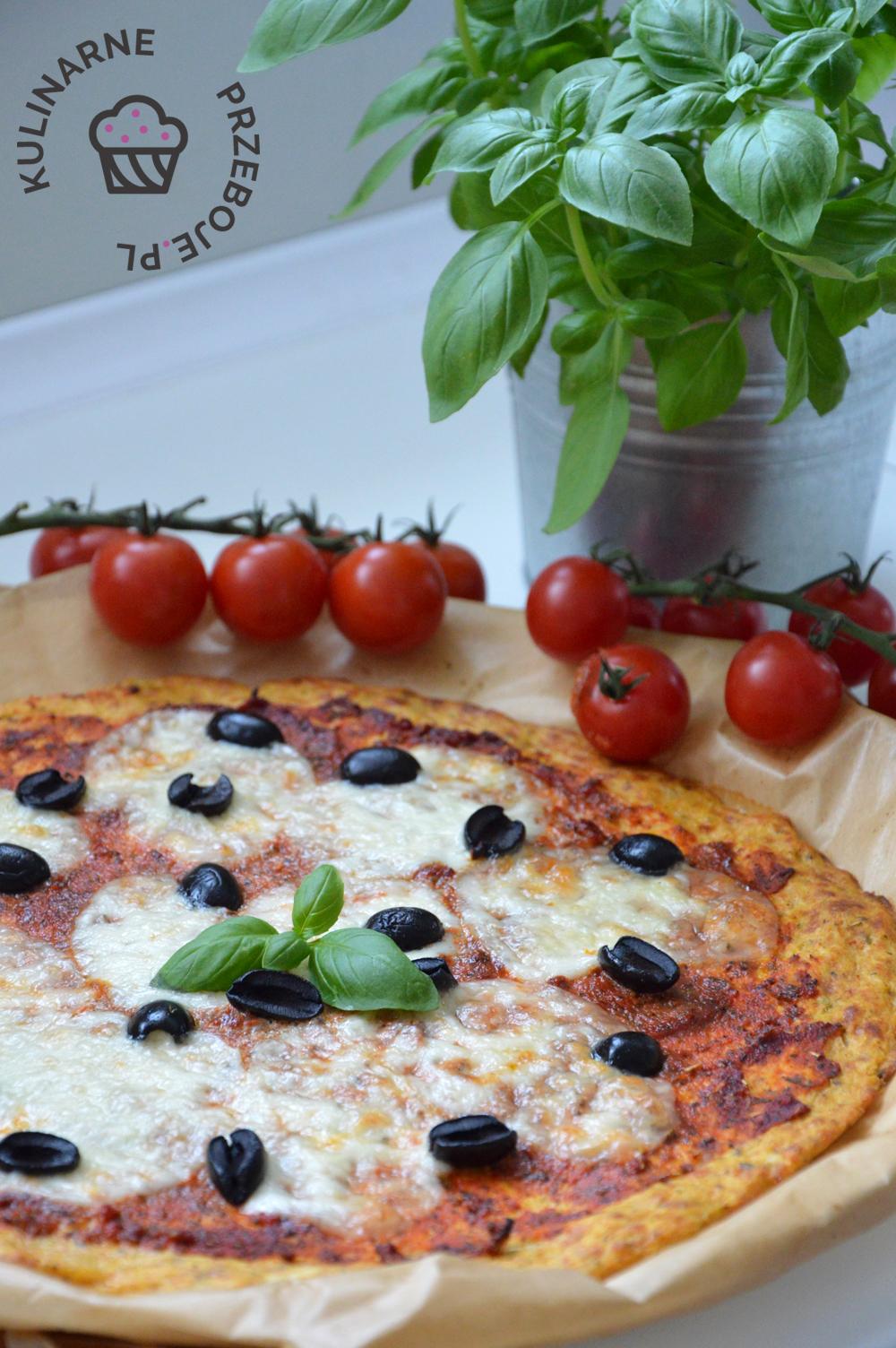 Fit pizza kalafiorowa