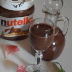 Likier czekoladowy z Nutelli