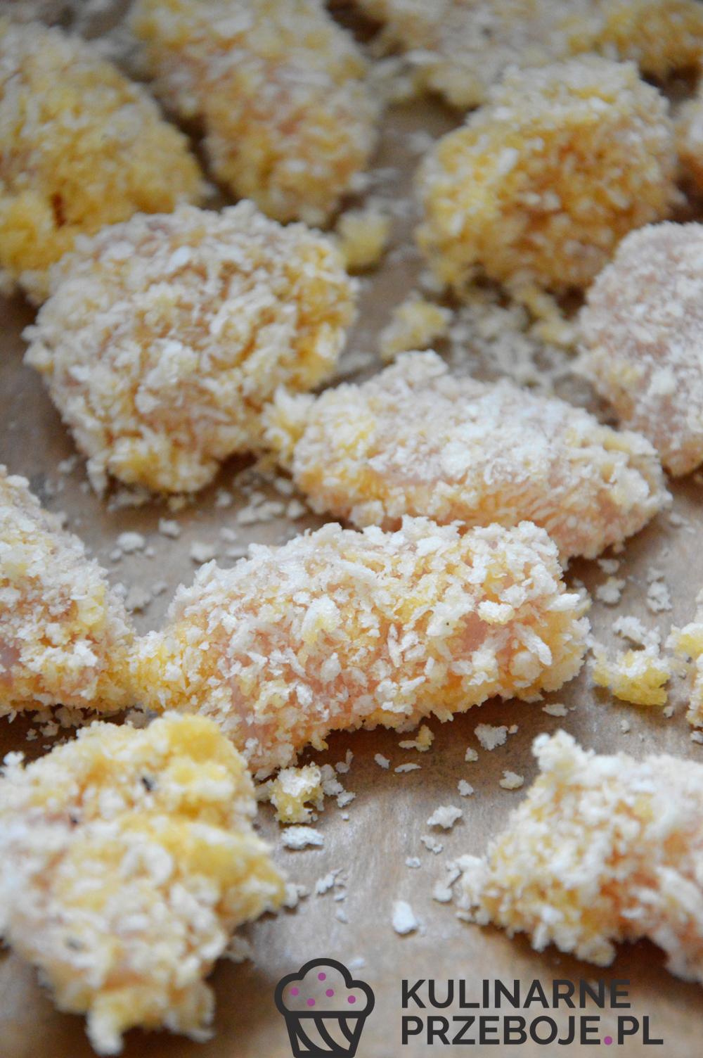 Chrupiący kurczak miodowo-czosnkowy - proces powstawania przekąski