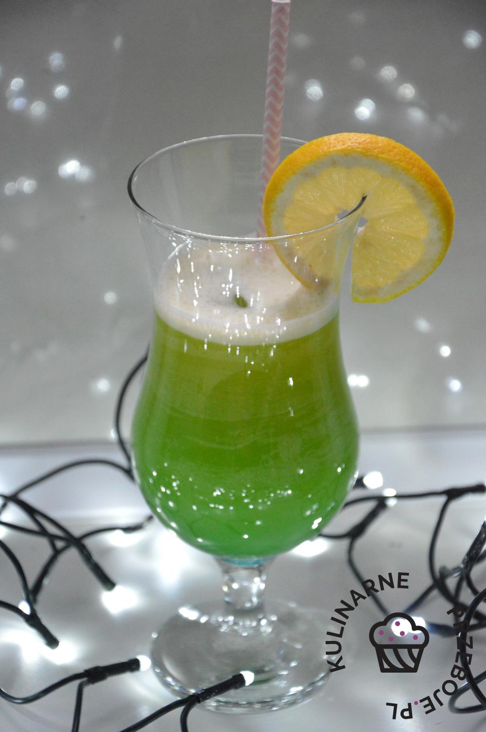 Drink Portofino z wódką i Blue Curacao