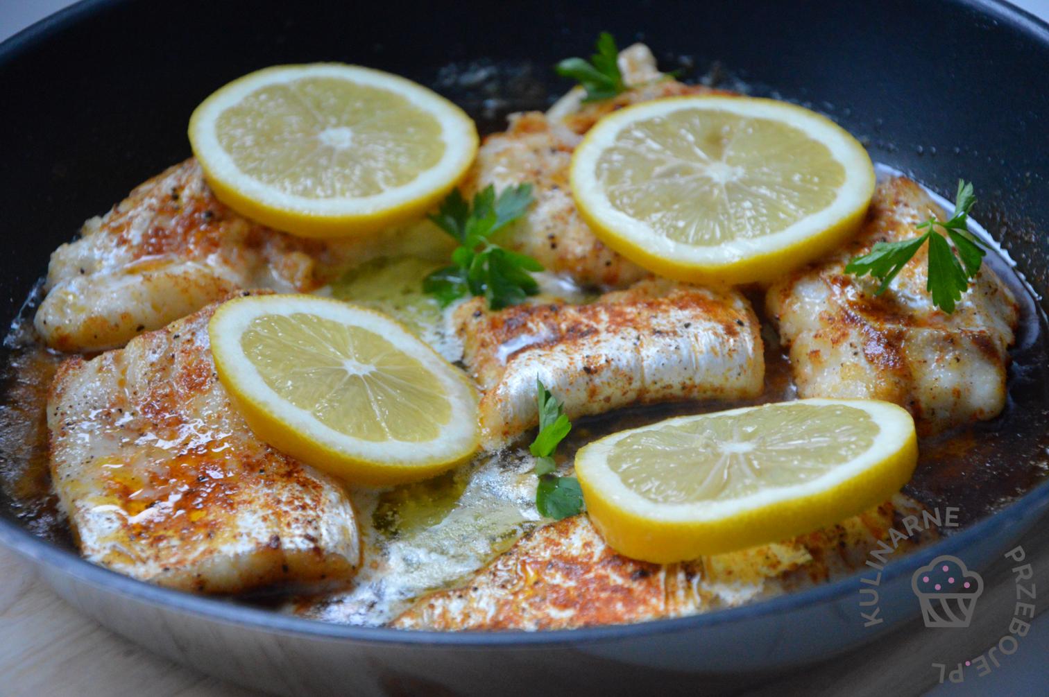 ryba w maślanym sosie