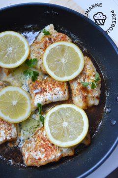 Ryba w maślano-cytrynowym sosie