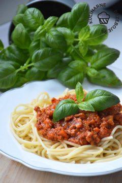 Spaghetti Bolognese - sos do spaghetti